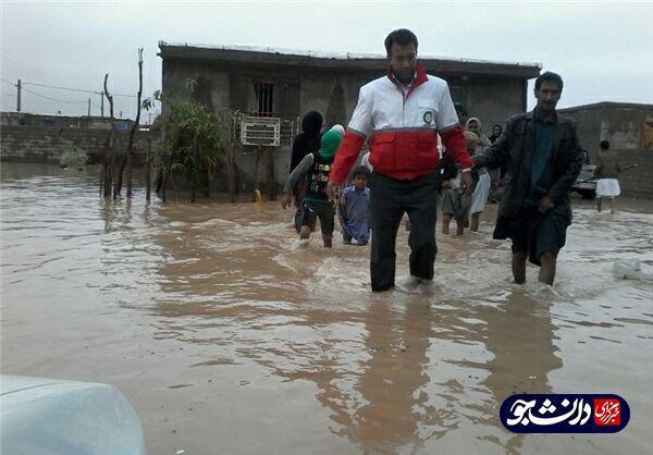 سهم کریمان از سیلاب ، خسارت 26 میلیارد تومانی سیل به راه های جنوب کرمان