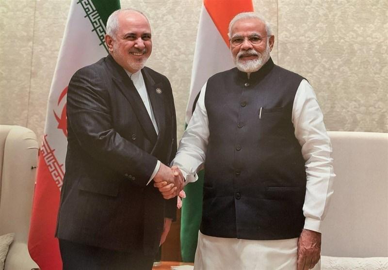 ملاقات ظریف با نخست وزیر هند