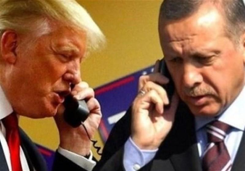سوریه، حمایت آشکار ترامپ از گروه های تروریستی در گفت وگوی تلفنی با اردوغان