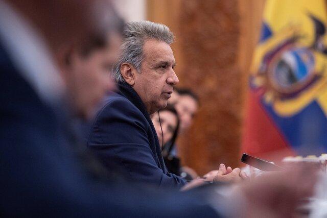 50 درصد کاهش حقوق رئیس جمهور اکواردور برای مقابله با کرونا