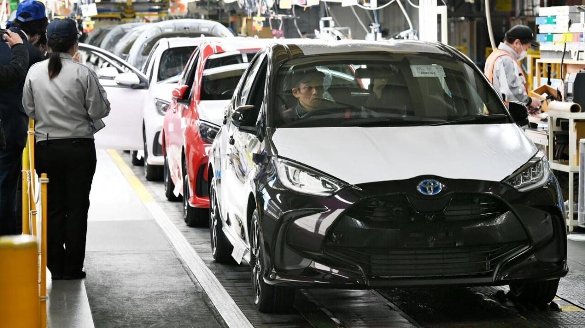 خبرنگاران فروش خودرو در ژاپن 16 درصد کاهش یافت