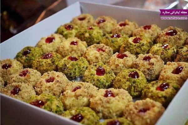 طرز تهیه شیرینی اسکار گردویی مخصوص عید نوروز